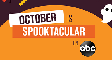 October Is Spooktacular on ABC