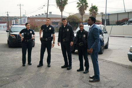 MELISSA O'NEIL, ERIC WINTER, NATHAN FILLION, MEKIA COX, HAROLD PERRINEAU