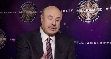 24. Dr. Phil, Celebrity Contestant, On the charity he is competing for