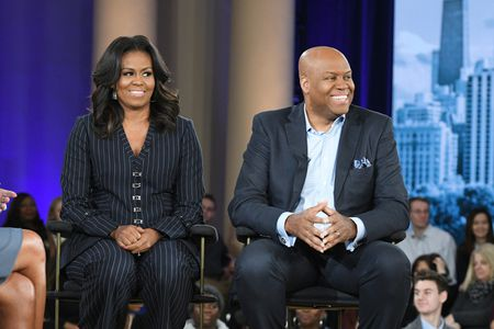 MICHELLE OBAMA, CRAIG ROBINSON