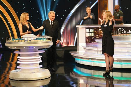 VANNA WHITE, PAT SAJAK, JENNIE GARTH
