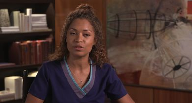 """08. Antonia Thomas, """"Dr. Claire Browne"""" On the success of the show"""