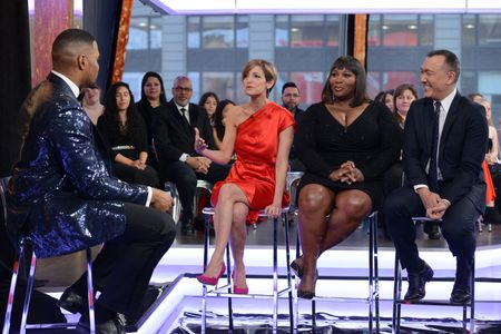 MICHAEL STRAHAN, CINDI LEIVE, BEVY SMITH, JOE ZEE