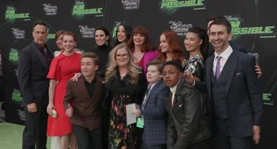 """Kim Possible"" Premiere Red Carpet B-roll"