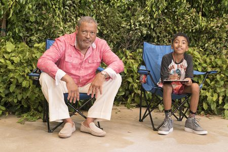 LAURENCE FISHBURNE, MILES BROWN