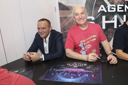 CLARK GREGG, JEPH LOEB (EXECUTIVE PRODUCER AND HEAD OF MARVEL TELEVISION)