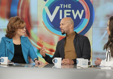 JOY BEHAR, COMMON, SUNNY HOSTIN