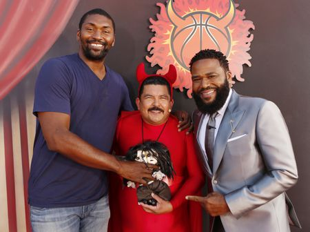 METTA WORLD PEACE, GUILLERMO RODRIGUEZ, ANTHONY ANDERSON