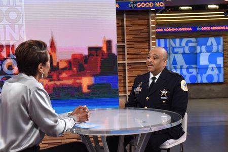 ROBIN ROBERTS, CHICAGO POLICE DEPARTMENT SUPERINTENDENT EDDIE JOHNSON