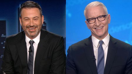 JIMMY KIMMEL, ANDERSON COOPER