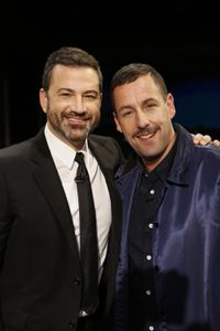 JIMMY KIMMEL, ADAM SANDLER