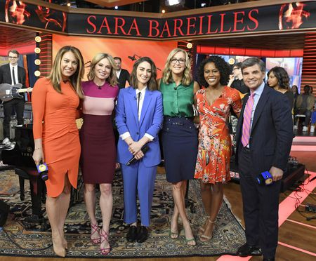 GINGER ZEE, AMY ROBACH, SARA BAREILLES, LARA SPENCER, JANAI NORMAN, GEORGE STEPHANOPOULOS
