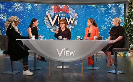 WHOOPI GOLDBERG, ABBY HUNTSMAN, JOY BEHAR, SUNNY HOSTIN, MEGHAN MCCAIN