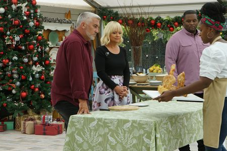 "PAUL HOLLYWOOD, SHERRY YARD, ANTHONY ""SPICE"" ADAMS, BIANCA"