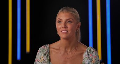 Dancing With The Stars Season 30 EPK Soundbites - 35. Amanda Kloots, Celebrity, On lessons learned from losing someone she loved