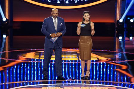 STEVE HARVEY, ASHLEY IACONETTI