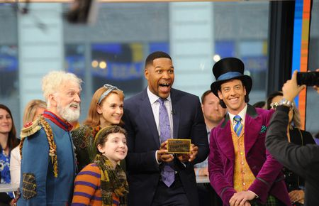 MICHAEL STRAHAN, CAST OF CHARLIE AND THE CHOCOLATE FACTORY
