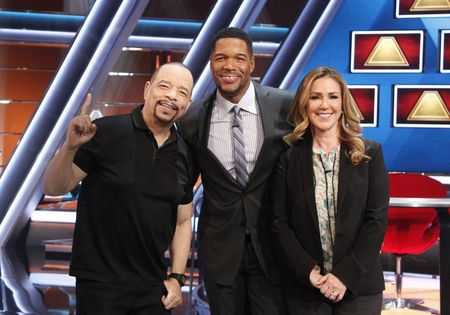 ICE T, MICHAEL STRAHAN, PERI GILPIN
