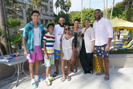 MARCUS SCRIBNER, MILES BROWN, ANTHONY ANDERSON, MARSAI MARTIN, GILLIAN WHITE, TRACEE ELLIS ROSS, ANTHONY ALABI