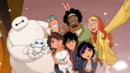 BAYMAX, MINI MAX, FRED, AUNT CASS, MOCHI, HIRO, WASABI, GO GO, HONEY LEMON