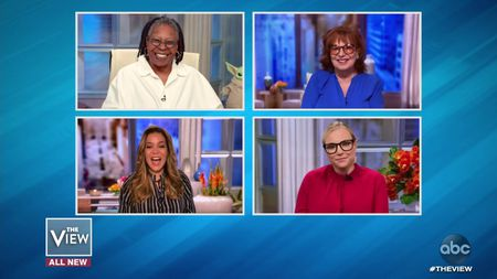 WHOOPI GOLDBERG, SUNNY HOSTIN, JOY BEHAR, MEGHAN MCCAIN