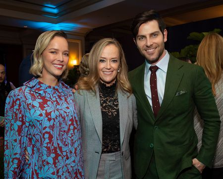 ALLISON MILLER, KAREY BURKE (PRESIDENT, ABC ENTERTAINMENT), DAVID GIUNTOLI
