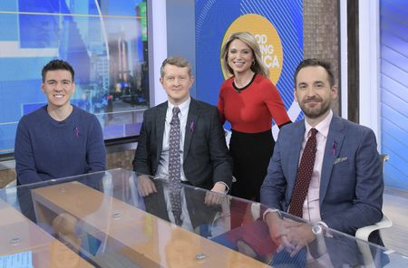 JAMES HOLZHAUER, KEN JENNINGS, AMY ROBACH, BRAD RUTTER