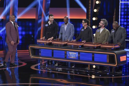 STEVE HARVEY, JOEL MCHALE, DONALD GRANT, DAVID WALPERT, ETHAN SANDLER, SPEAKS