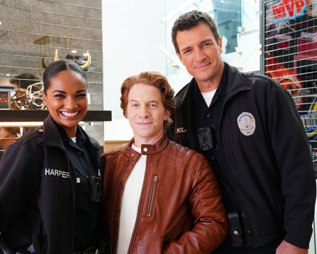 MEKIA COX, SETH GREEN, NATHAN FILLION