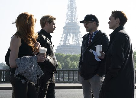 KATHERINE MCNAMARA, DOMINIC SHERWOOD, MATT HASTINGS (DIRECTOR), LUKE BAINES