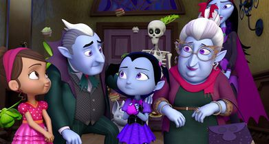 "Patti LuPone and Brian Stokes Mitchell on ""Vampirina"""