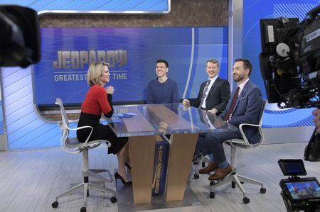 AMY ROBACH, JAMES HOLZHAUER, KEN JENNINGS, BRAD RUTTER