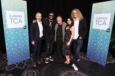 IAN STEWART (EXECUTIVE PRODUCER), SHAGGY, ALAN MENKEN (COMPOSER), AULI'I CRAVALHO, HAMISH HAMILTON (DIRECTOR/EXECUTIVE PRODUCER)