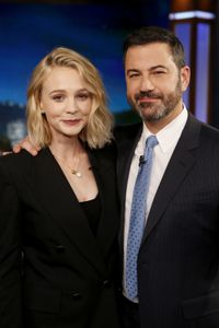CAREY MULLIGAN, JIMMY KIMMEL