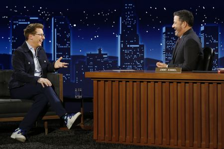 SEAN HAYES, JIMMY KIMMEL