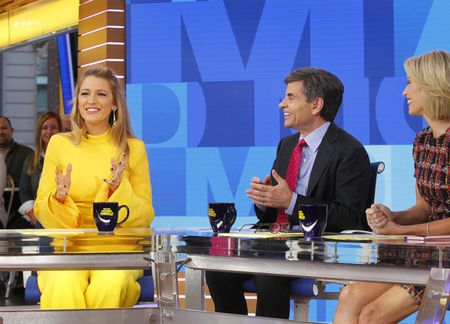 BLAKE LIVELY, GEORGE STEPHANOPOULOS, AMY ROBACH