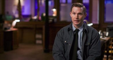 """12. Brian Geraghty, """"Ronald Pergman"""", On his character"""