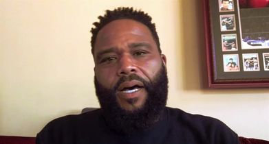 """01.Anthony Anderson, """"Andre 'Dre' Johnson"""", On the show's timely point of view"""