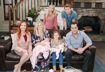 JACKLYN ZEMAN, LAURA WRIGHT, EDEN MCCOY, AVA AND GRACE SCAROLA, CHAD DUELL, MAURICE BENARD