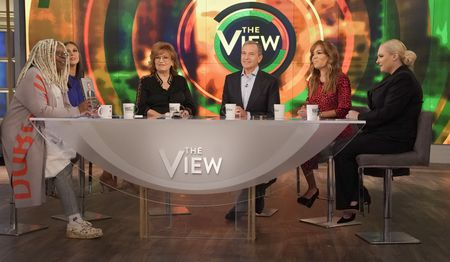 WHOOPI GOLDBERG, ABBY HUNTSMAN, JOY BEHAR, ROBERT IGER, SUNNY HOSTIN, MEGHAN MCCAIN
