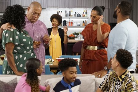 LAURENCE FISHBURNE, JENIFER LEWIS, MILES BROWN, TRACEE ELLIS ROSS
