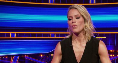 """04.Sara Haines, Host, On how hosting """"The View"""" compares to hosting """"The Chase"""""""