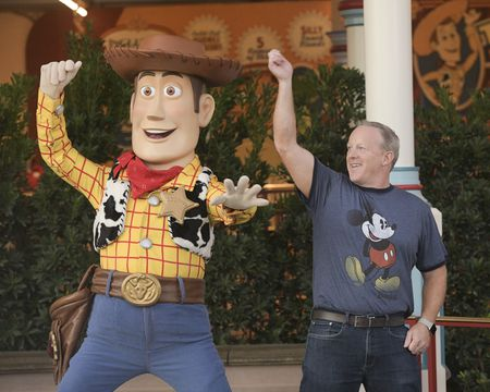 SHERIFF WOODY, SEAN SPICER