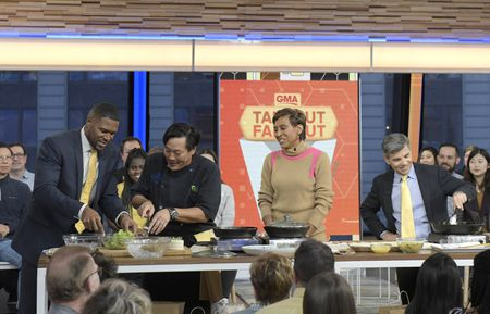MICHAEL STRAHAN, CHEF MING TSAI, ROBIN ROBERTS, GEORGE STEPHANOPOULOS