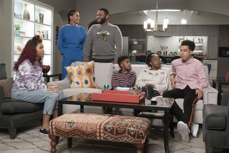 QUVENZHANÉ WALLIS, TRACEE ELLIS ROSS, ANTHONY ANDERSON, MILES BROWN, MARSAI MARTIN, MARCUS SCRIBNER