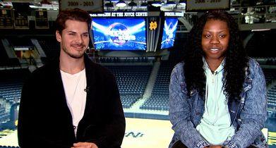 45. Gleb Savchenko, Pro, Arike Ogunbowale, On preparing for the competition