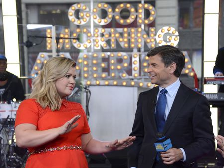 KELLY CLARKSON, GEORGE STEPHANOPOULOS