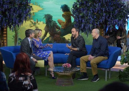 GEORGE STEPHANOPOULOS, AMY ROBACH, DAVE MATTHEWS, CLETE BARRETT SMITH