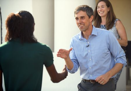 UNDECIDED VOTERS, BETO O'ROURKE, AMY HOOVER SANDERS
