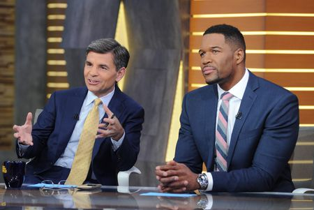 GEORGE STEPHANOPOULOS, MICHAEL STRAHAN